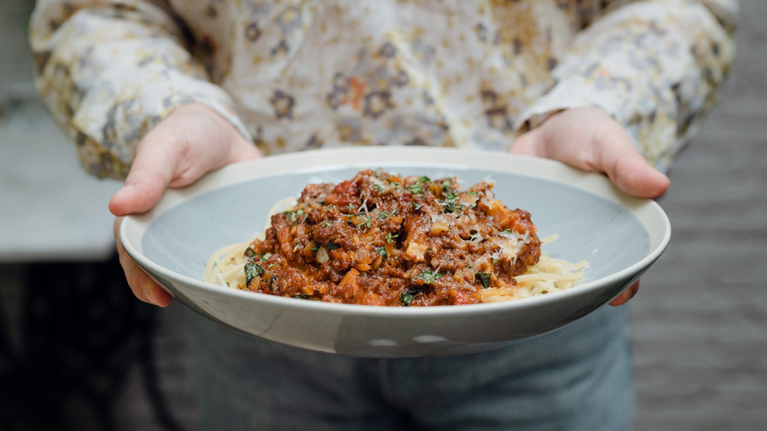 Spaghetti met tomatensaus (zoals de Italianen hem maken)